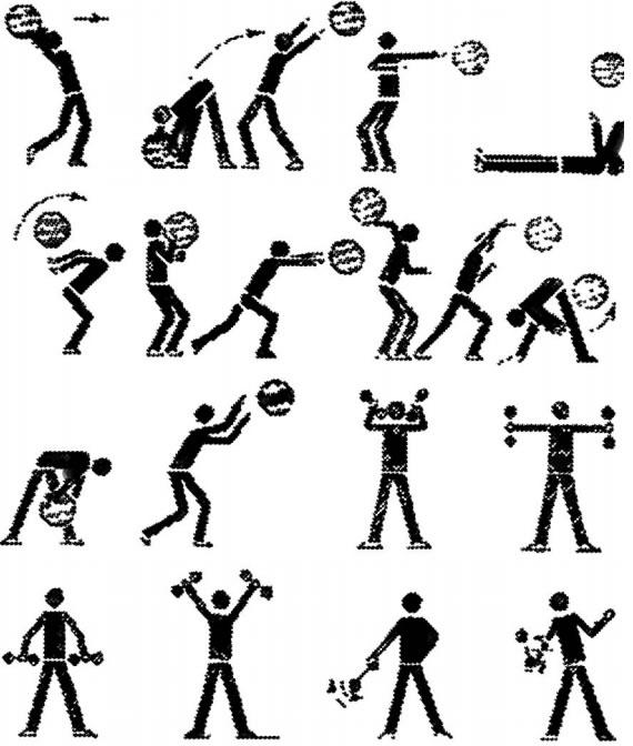 упражнения бадбинтониста